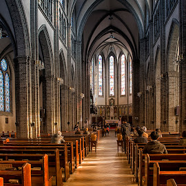 Myeong-dong Cathedral by Stanley P. - Buildings & Architecture Places of Worship
