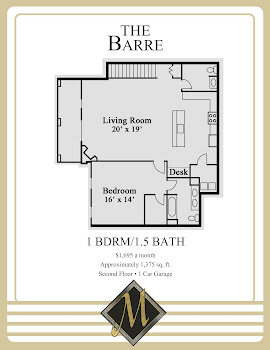Go to Barre Floorplan page.