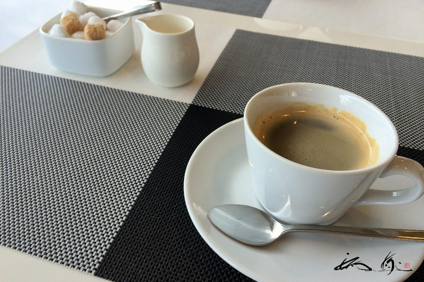 香り豊かなコーヒー