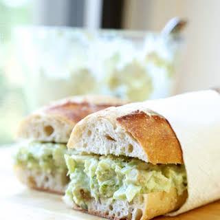 Healthy Chicken Salad Sandwich.