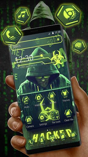 Secret Hacker Launcher Theme 1.1.5 screenshots 1