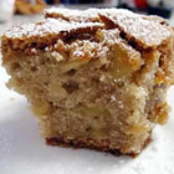 German Apple Cake (with Apple Chunks)