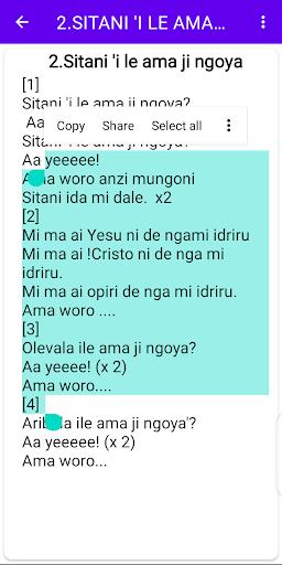 Lugbara Hymns screenshot 4