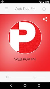 Rádio Web Pop FM- screenshot thumbnail