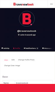 Bravenewbook- screenshot thumbnail