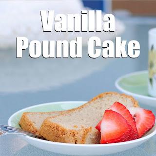 Vanilla Pound Cake Recipe [Paleo, Gluten-Free, Dairy-Free]