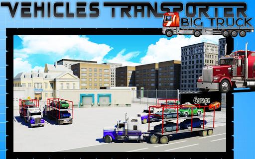 車トランスポータービッグトラック