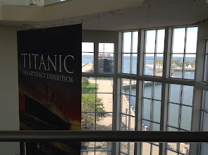 Photo: Looking out toward Lake Erie from the Great Lakes Science Center in Cleveland, Ohio