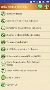 Help for Baby Acid Reflux & GER in Infants - náhled