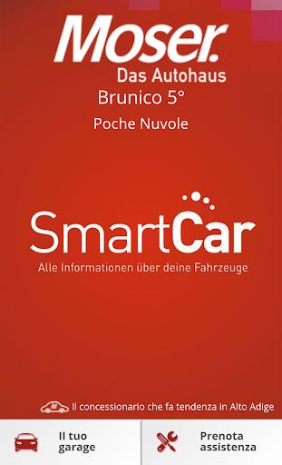 Moser l'App per il tuo veicolo
