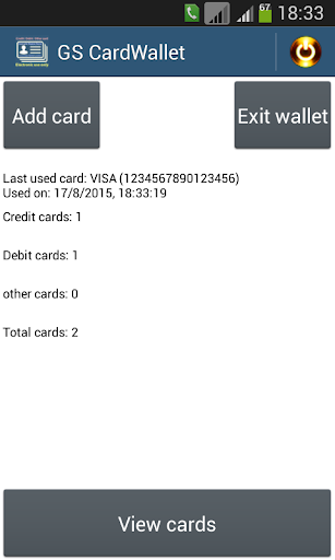 GS Card Wallet