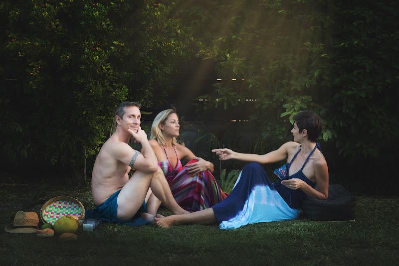 Le Déjeuner sur l'herbe di E. Manet, versione 21° secolo di Laura Benvenuti