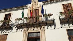 Balcón del Ayuntamiento, en una imagen de Antonio Orellana.