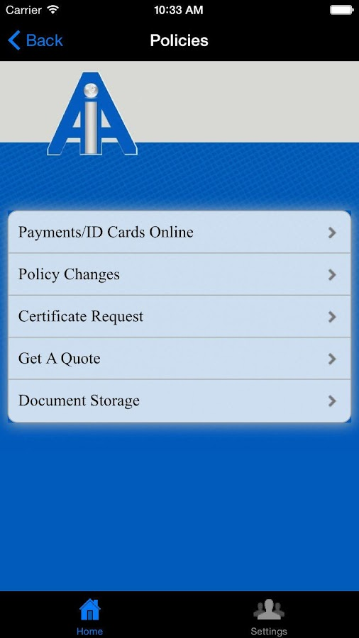 Avon Insurance Associates- screenshot