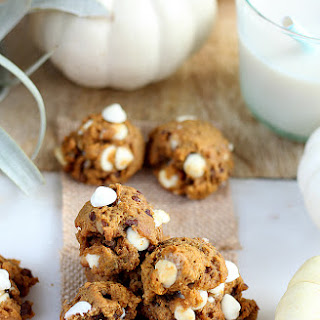 Two-Bite Pumpkin Cookies (low sugar and dairy free).