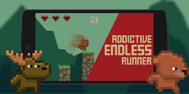 Animal Run - Endless Runner 2D - 屏幕截图缩略图