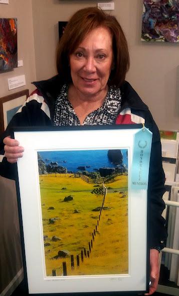 Honorable Mention winner Marcia Gay