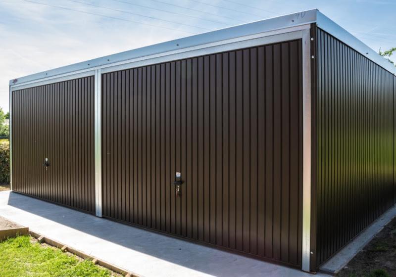 Metalen garageboxen