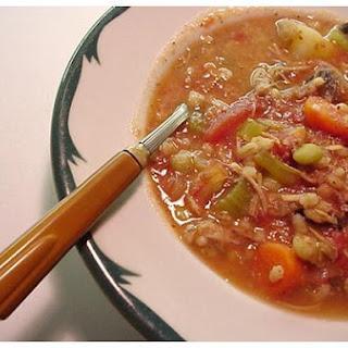 Celery Barley Soup