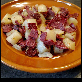 Easy Gluten-Free Corned Beef Hash #Recipe.