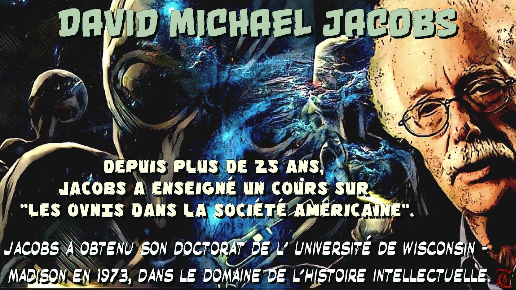 David Michael Jacobs - Conférence du 13 septembre 2018, à Paris.