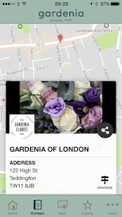 Gardenia of London App - náhled