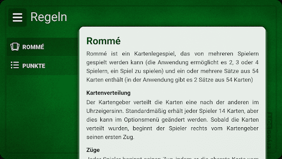 Rommé (Gratis) Screenshot