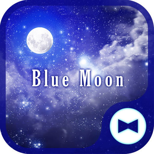 Fantasy Wallpaper Blue Moon Theme Icon