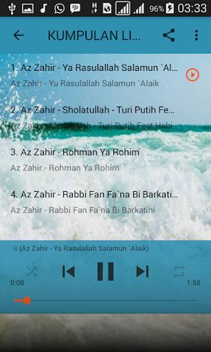 Kumpulan Lirik Sholawat Az Zahir Lengkap 1 0 Apk By Loki En