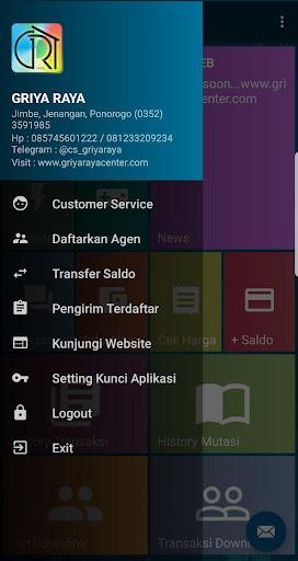 GRIYA RAYA PULSA 5.0 screenshots 2