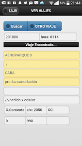 Taxi Pampa Taxistas screenshot 4