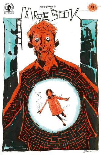 Jeff Lemire explores family and loss in new series MAZEBOOK