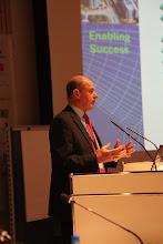 "Photo: ""Communicating Science & Innovations"" Panel - 2012: Hans Kunz - presenting"