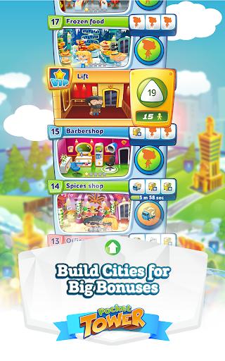 Pocket Tower: build & manage  screenshots 4