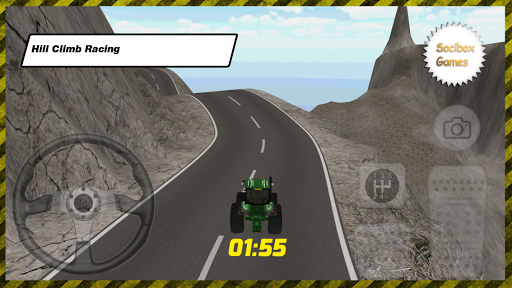 Tractor Hill Climb Game