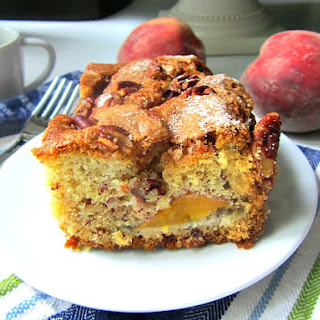 Ina's Fresh Peach Cake