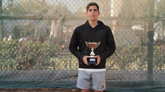 Un tenista con mucho futuro.