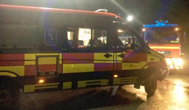 Dramatic Sunday evening Welshpool rescue