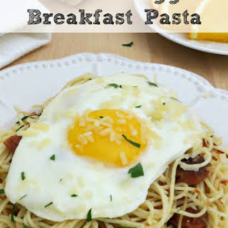 Breakfast Pasta With Eggs Recipes.
