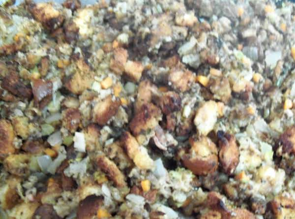Very Old Fashioned Giblet Dressing (for Turkey) Recipe