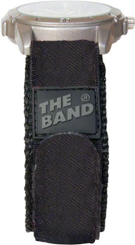 """Chums The Band Watchband: 3/4"""", Black"""