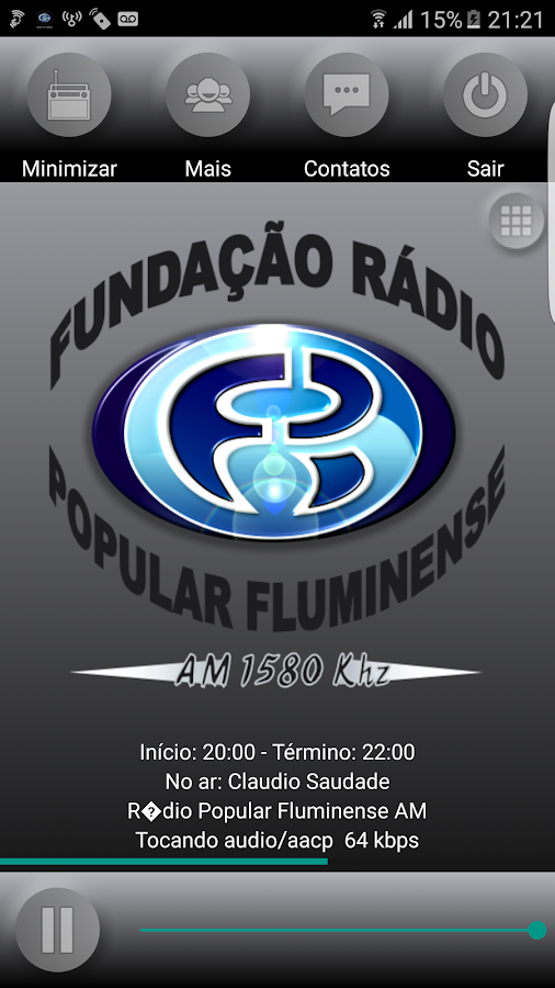 Rádio Popular Fluminense- screenshot