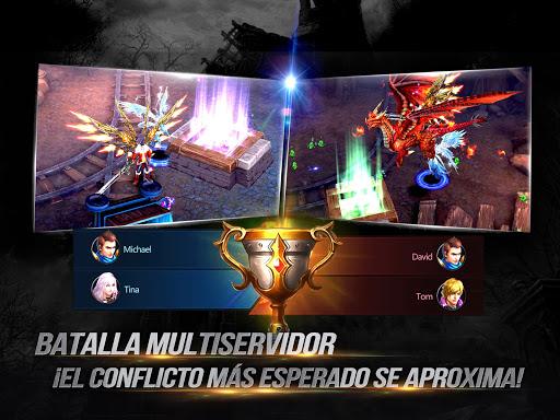 Goddess: Primal Chaos - MMORPG de acciu00f3n 3D apkmr screenshots 1