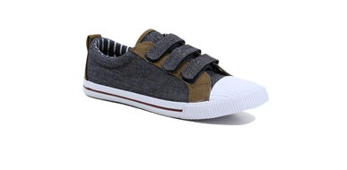 Explore our range of canvas trainers at George.com