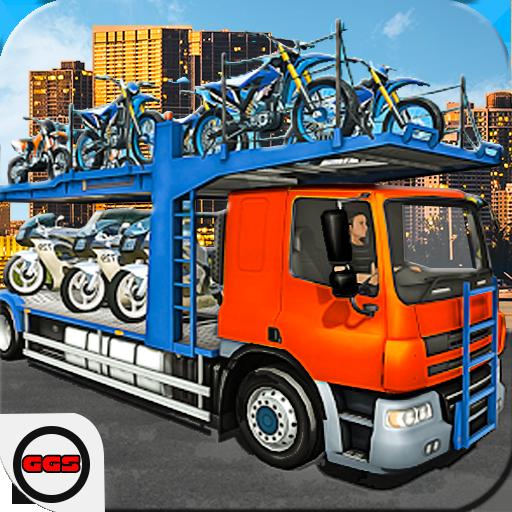 Car & Bike Cargo Truck Transporter City Driver