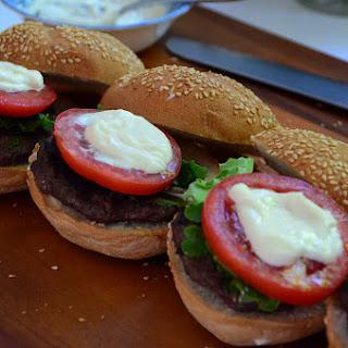 Lamb Kofta Burgers