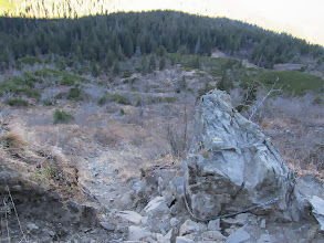 Photo: 17.Akademicka Perć - ten sam fragment szlaku widziany z góry.