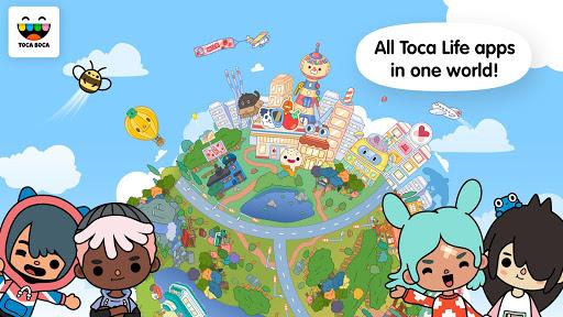 Toca Life World - Create stories & make your world screenshots apkspray 2
