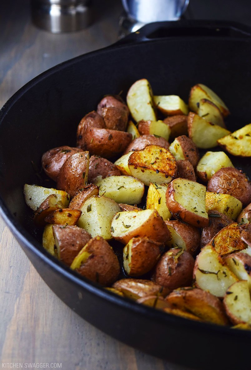 how to make red potatoes in the oven