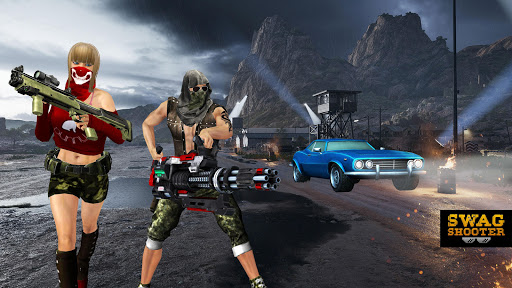 Swag Shooter - Online & Offline Battle Royale Game 1.6 screenshots 11